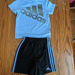 Adidas shorts set